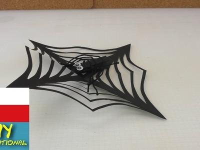 Udělejte si pavučinu na Halloween