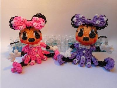 3D Minnie z gumiček