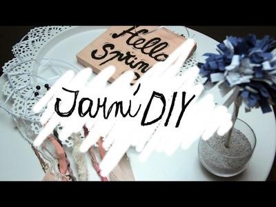 Jarní DIY | Dekorace a Lapač snů | Ester Starling
