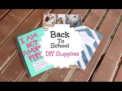 Back To School 2016 | DIY Supplies