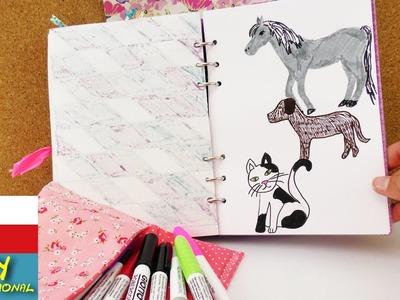 Namalujte si zvířata - kočka, pes, kůň ve Filofaxu