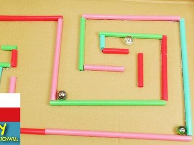 Kuličkový labyrint - hračka pro děti - jednoduché hezké hračky