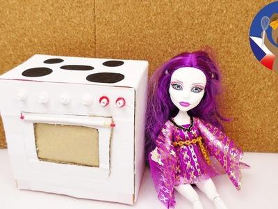 Trouba pro panenky - Barbie a Monster High - návod