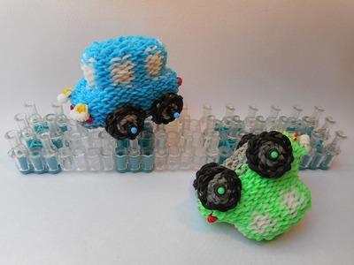 3D Auto z gumiček