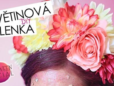 Květinová čelenka | DIY | HALLOWEENSKÝ SPECIÁL