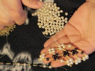 Navod na koralkovy nahrdelnik s perlickama