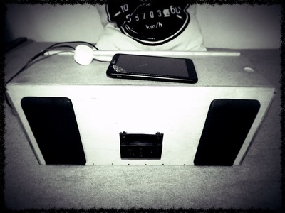 DIY sound systém do garáže .