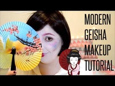 Halloweenský týden: Modern Geisha Makeup Tutorial | OUTFITTER
