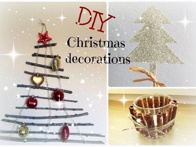 Christmas edition | DIY vánoční dekorace | Life with Carol