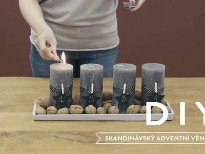 Skandinávský adventní věnec | WESTWING DIY