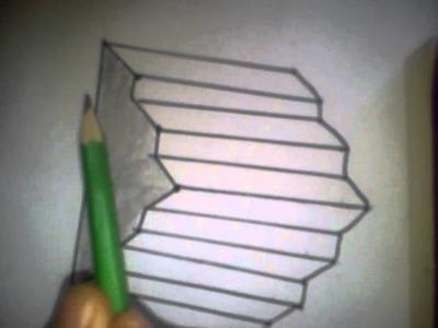 Jak nakreslit 3D schody 2 Část
