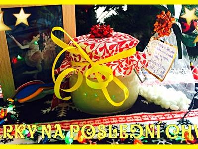 !!! DIY: Levné dárky na poslední chvíli !!!