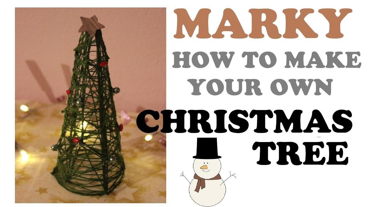 DIY: Christmas Tree. Vánoční stromek [Marky]