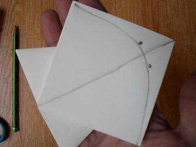 Pakistani Style Kite Origami.巴基斯坦风格风筝折纸.Pakistán Estilo Kite Origami. पाकिस्तानी शैली पतंग Origami