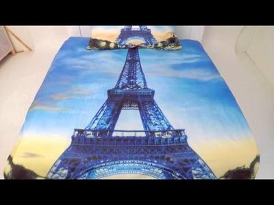 Povlečení 3D Eiffelovka