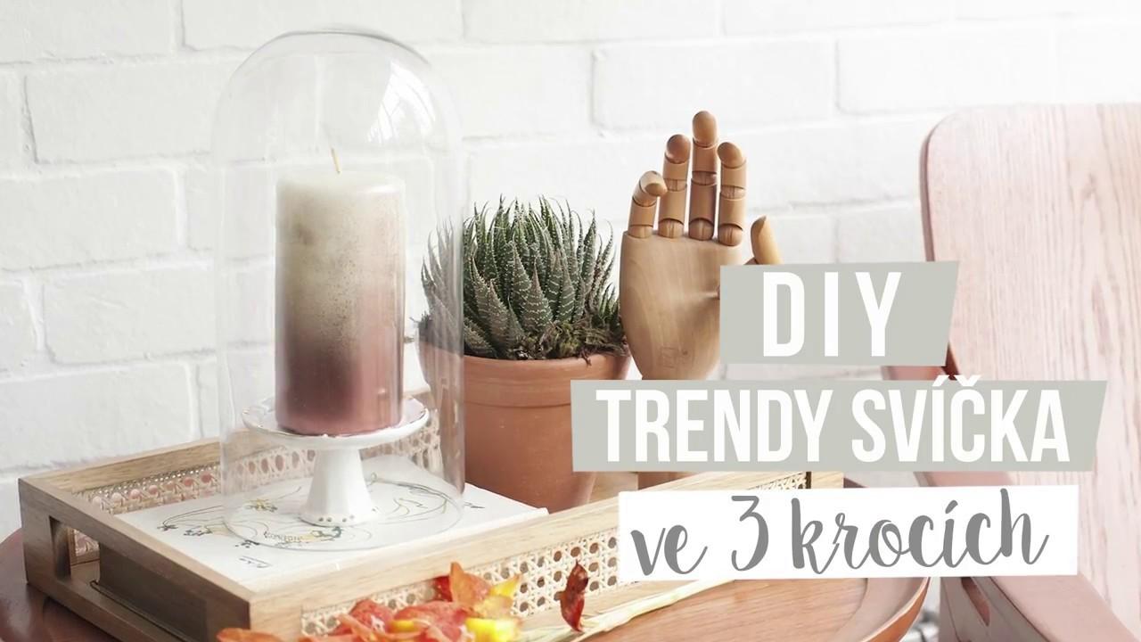 Trendy svíčka ve třech krocích | WESTWING DIY