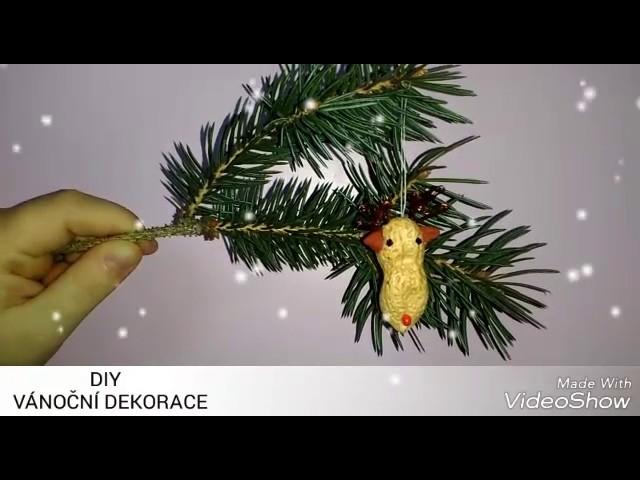 DIY Vánoční dekorace