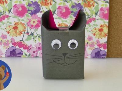 DIY jak zabalit dárek - super nápad pro děti - zvířátko