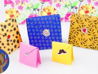 DIY Origami dárek - krásné balení na dárky pod stromeček - Vánoce