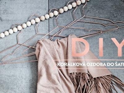 Korálková ozdoba do šatníku| WESTWING DIY