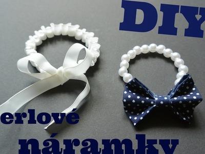 DIY perlové náramky. DIY pearl bracelets