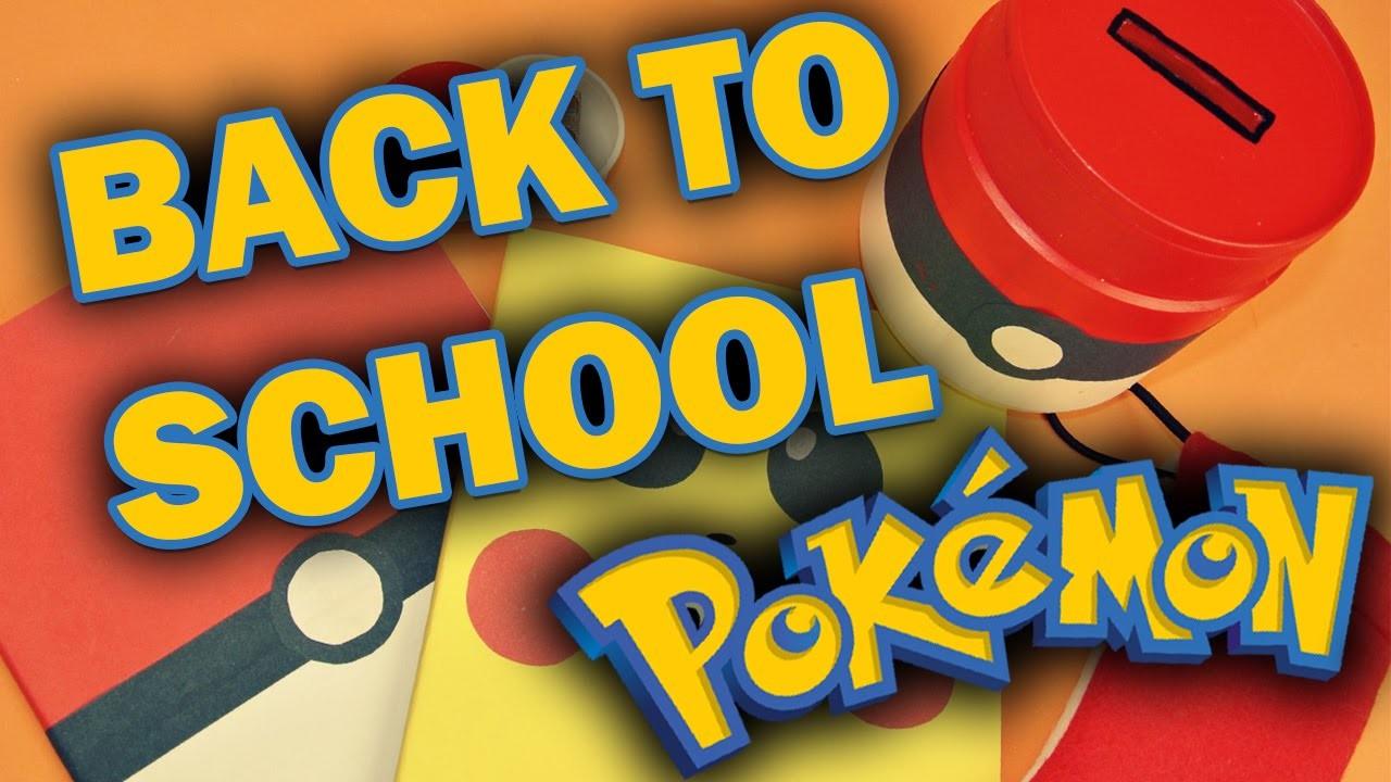 Pokémoní zpátky do školy #7. POKEMON Back to school. SOUTĚŽ UKONČENA