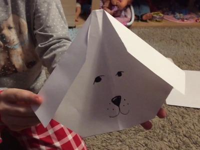 Jak vyrobit papírového labradora [How to make paper labrador]