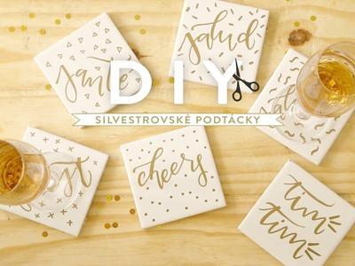 Silvestrovské podtácky | WESTWING DIY