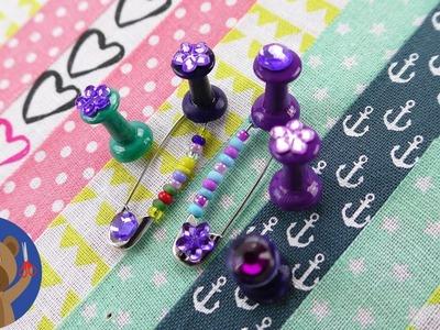 Jak si ozdobit kreativní nástěnku - barevné připínáčky