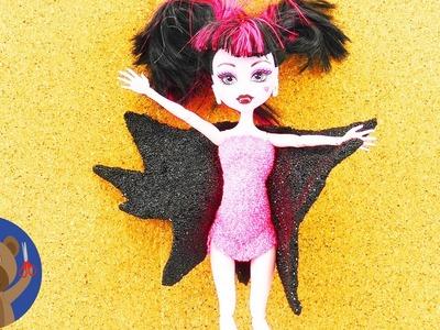 Kostým Drákuly pro Monster High nebo Barbie