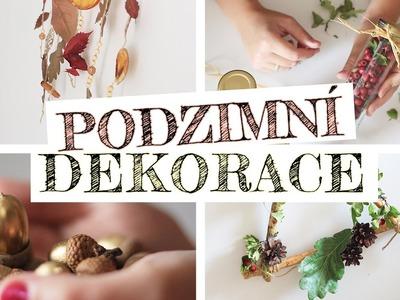 Podzimní dekorace | DIY | FrogFace Markét