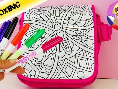 Color Me Mine taška | DIY Udělej si sám sada | Vybalení