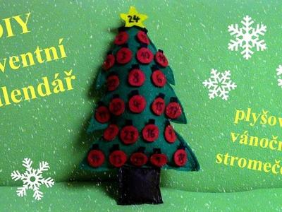 DIY adventní kalendář z filcu . Vánoce 2016