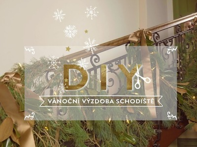 Vánoční dekorace schodiště | WESTWING DIY