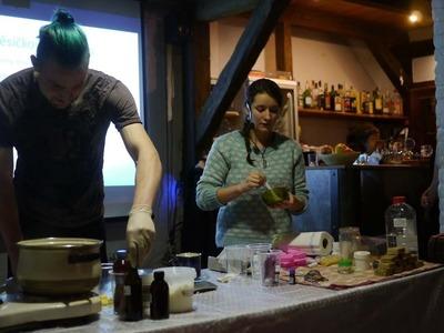 Michaela Bočánová - workshop DIY kosmetiky (VeganFest 2016)