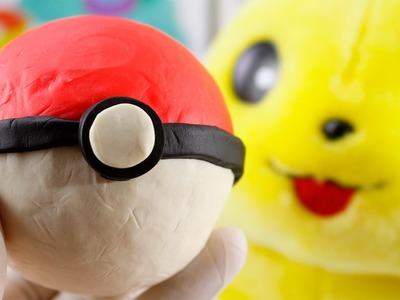 DIY PLAY-DOH POKÉMON BALL - How to Make Pokémon Ball from Play-Doh Clay - It's very EASY