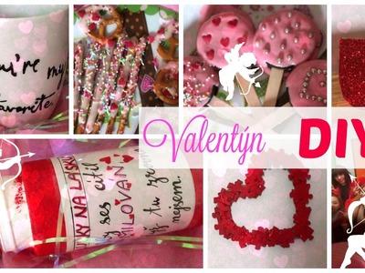 Valentýnské DIY dárky, dekorace, dobroty | Tereza Schneeberg