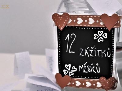 DIY Dóza 12 zážitků - originální dárek pro svoji polovičku