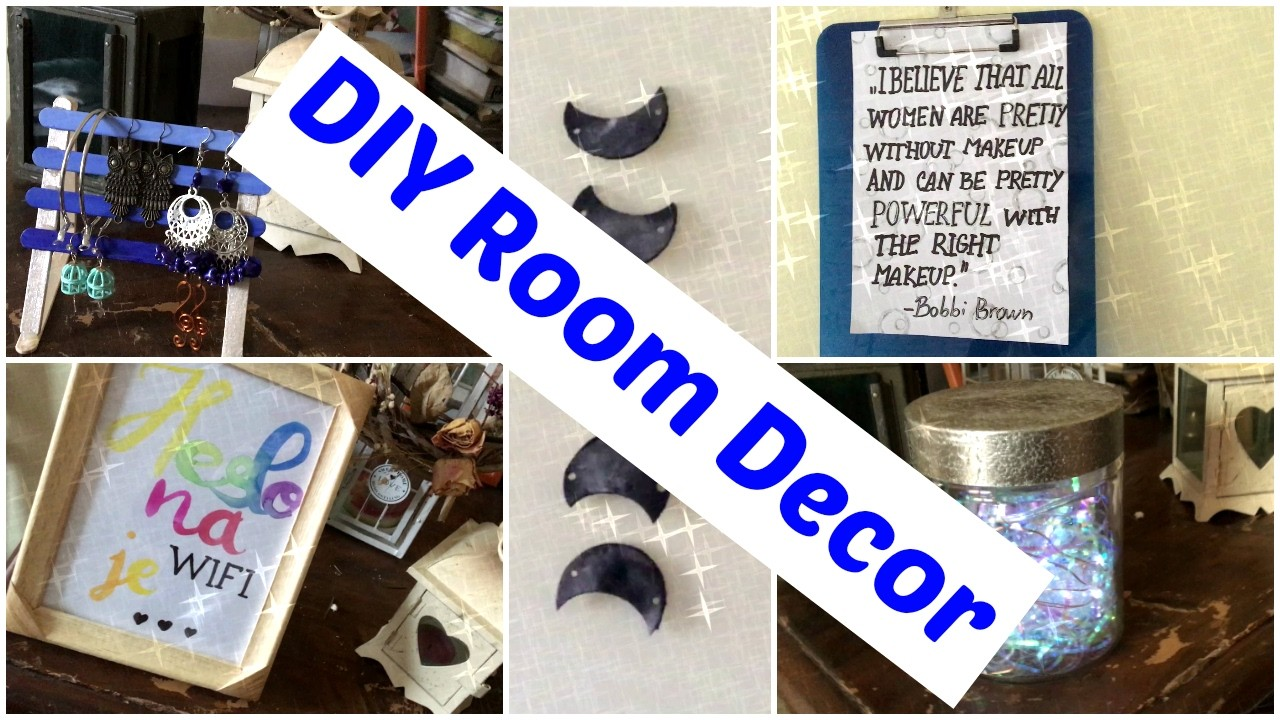 DIY Room Decor - výzdoba do pokoje | Tereza Schneeberg