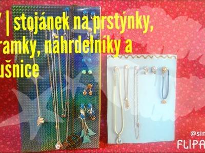 DIY | stojánek na náramky, náušnice, náhrdelníky a prstýnky | Get-upinka
