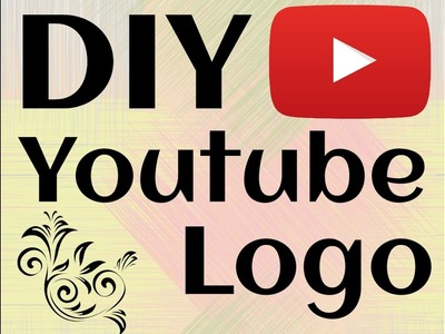 DIY | Youtube logo | Tete's Life