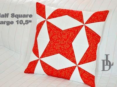 Patchwork Half Square Large - Flic Flac & Kaleidoscope