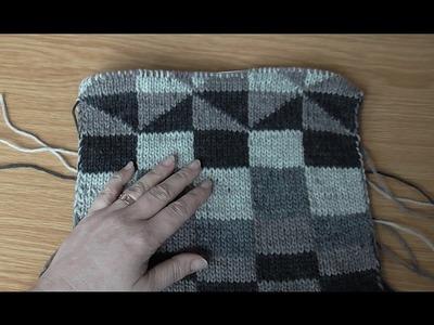 Škola pletení: oboustranné  pletení - reverse knitting