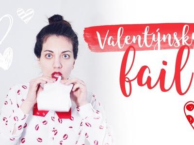 Valentýnské last minute překvápko (fail) v sáčku | DIY