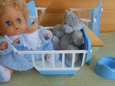 Háčkování pro malé panenky Crochet mini dolls