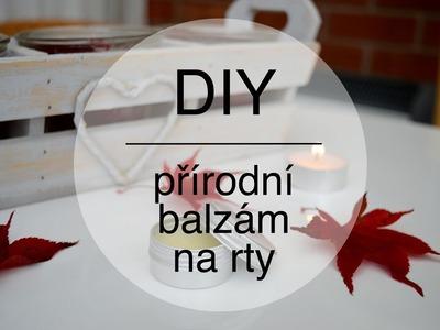 DIY | Přírodní balzám na rty