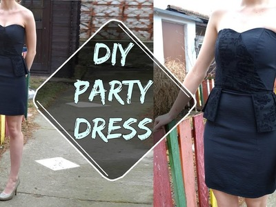 DIY party dress (SK,EN)