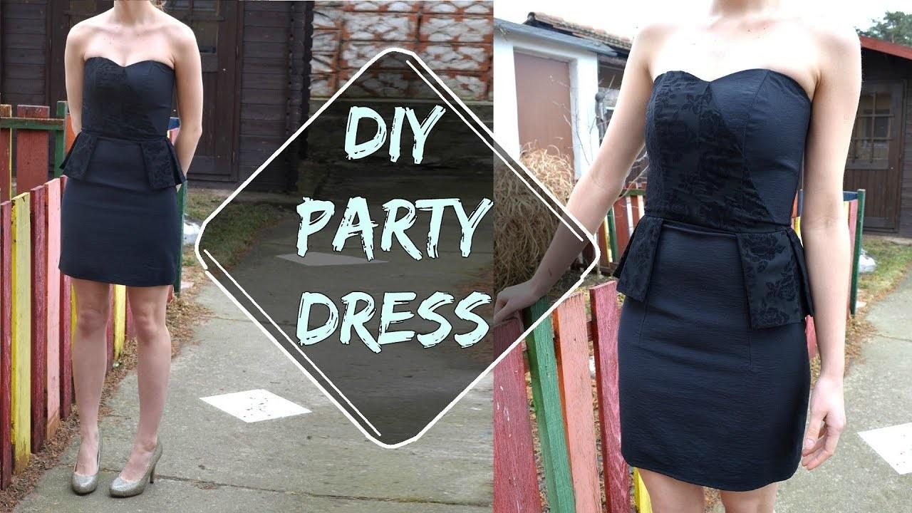DIY party dress (SK,EN)