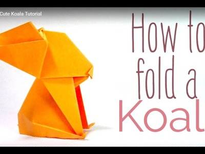 Origami : Paper art to create a cool looking Koala