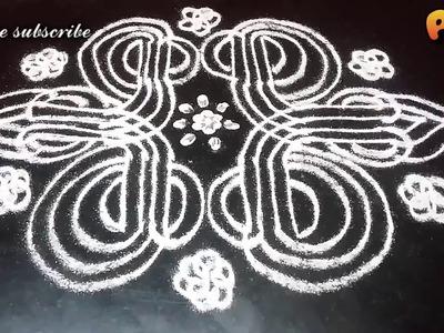 Sri Rama Navami 9 days kolam.padi kolam designs. Navratri golu special Aathukolam by Preetha SaiRam